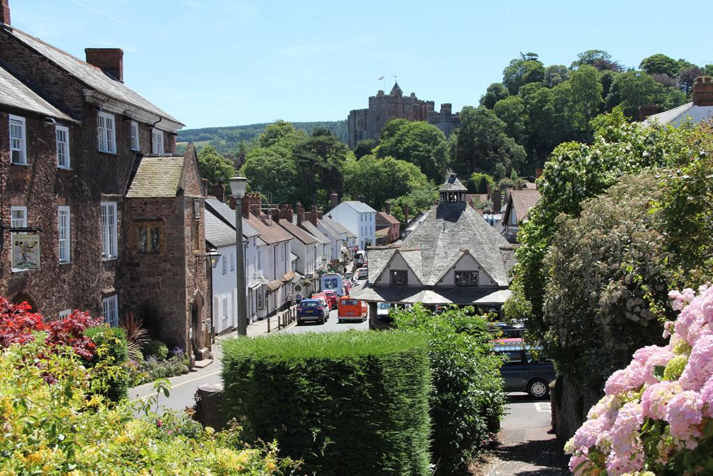 Dunster Castle Village